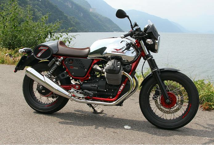 2015 Moto Guzzi V7 II First Ride Review