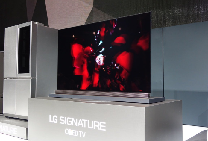 LG 65G6 Signature OLED TV Hands-on Review