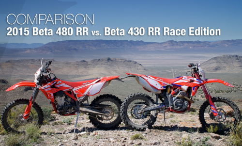 2015 Beta 480 RR vs. Beta 430 RR Race Edition Comparison Review