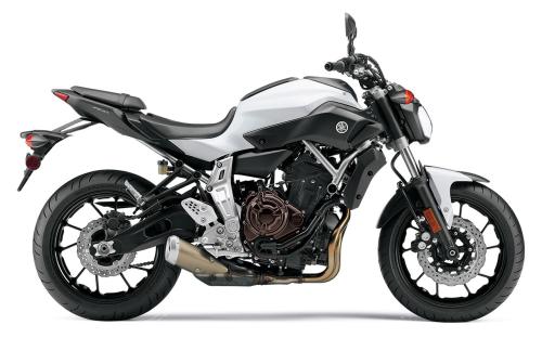2015 Yamaha FZ-07 Comparison