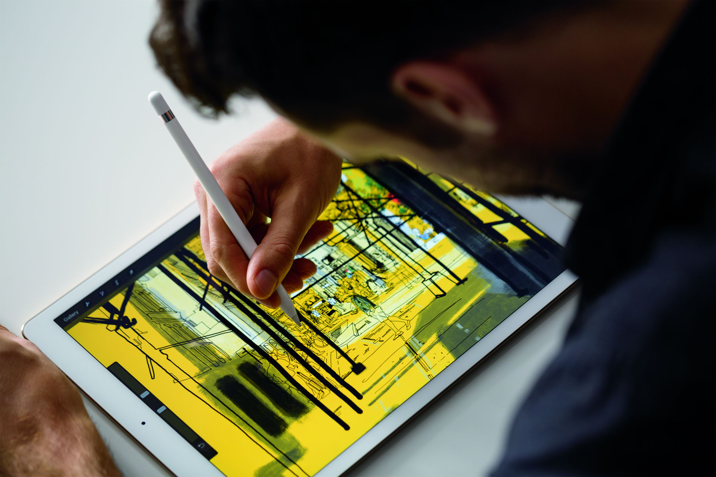 adobe photoshop sketch review with ipad pro and apple pencil gearopen com