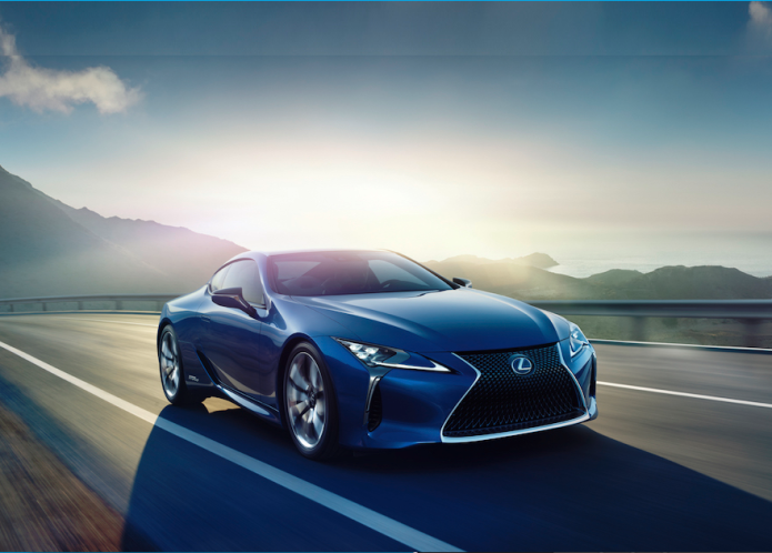Surprise: The Lexus LC 500h hybrid is coming to Geneva