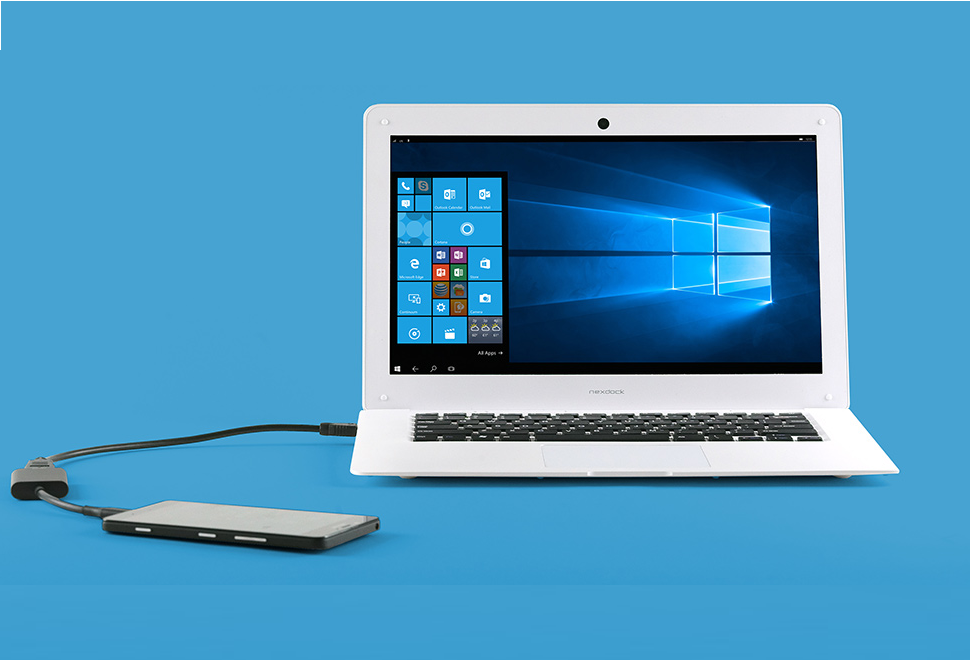 NexDock wants to turn smartphones, tablets into laptops ...