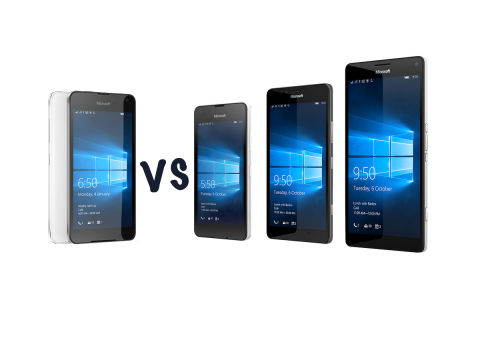 Which Windows Phone is right for you? Microsoft Lumia 650 vs 550 vs 950 vs 950 XL