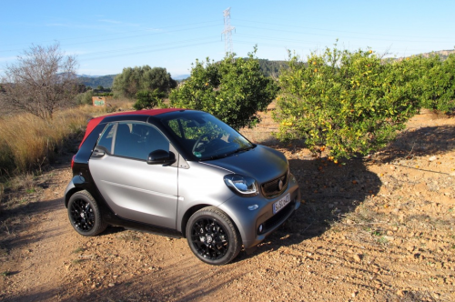 2017 Smart ForTwo Cabriolet First-Drive Review
