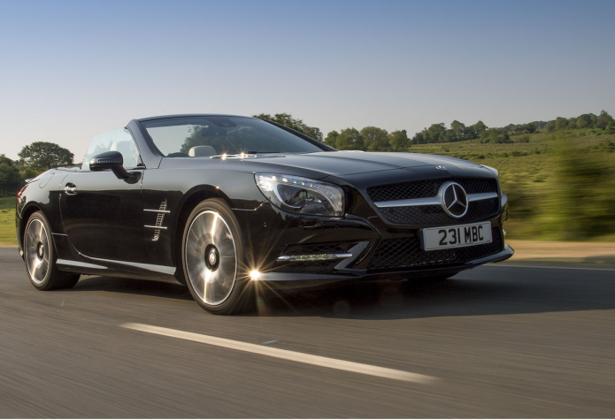 Mercedes SL review : Not an outright sports car, but a great cruiser