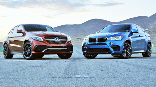 2015 BMW X6 M vs. 2016 Mercedes-AMG GLE63 S Coupe – Comparison Tests
