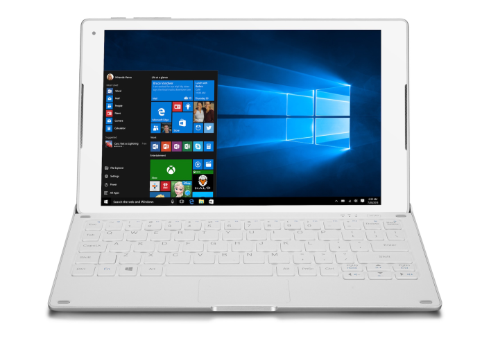 Alcatel's PLUS 10 Windows 10 tablet packs a 4G keyboard