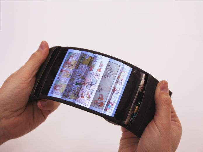 ReFlex flexible smartphone bends apps