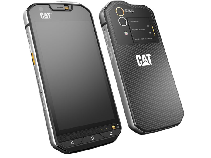 Cat S60 rugged smartphone has integrated thermal camera