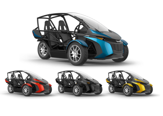 Arcimoto SRK Injects The Electric Trike With Car-Like Conveniences