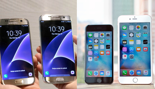 Galaxy S7 vs. iPhone 6s: How Samsung's Phones Stack Up