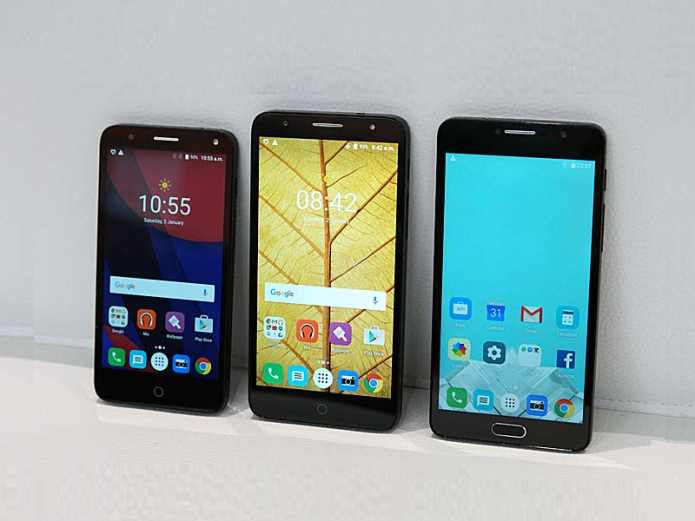 Alcatel's Budget Chic Pop 4 Phone Bursts Out in Three Flavors - Hands-on Review