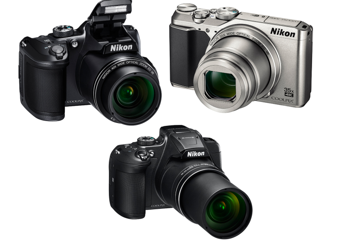 Coolpix hat-trick : Nikon unveils two new superzooms and a 35x travel-zoom model (some with 4K video!)