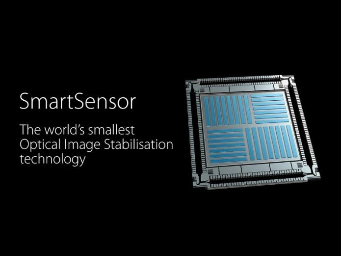 OPPO SmartSensor: first sensor-based, smallest smartphone OIS