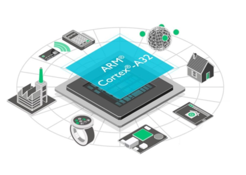 ARM outs 32-bit Cortex-A32, better for IoT and wearables