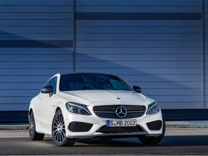 Mercedes-AMG C43 coupe debuts with 362hp biturbo V6
