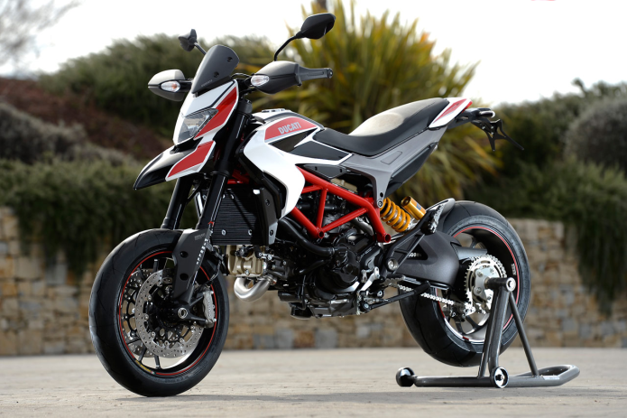 Ducati Hypermotard First Ride Review