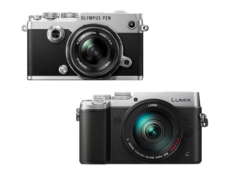 Olympus PEN-F vs Panasonic GX8 Specifications Comparison