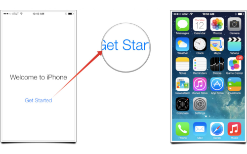 How to set up an iPhone