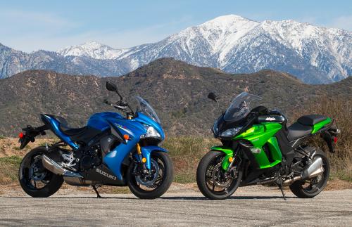 2016 Suzuki GSX-S1000F vs Kawasaki Ninja 1000 Comparison Review