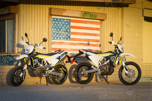 2016 Husqvarna 701 Supermoto and 701 Enduro First Ride Review