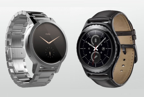 Samsung Gear S2 v Moto 360 2: Second-generation smartwatches go head to head