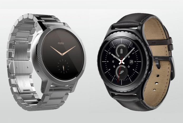 Samsung Gear S2 v Moto 360 2: Second-generation smartwatches go head to head