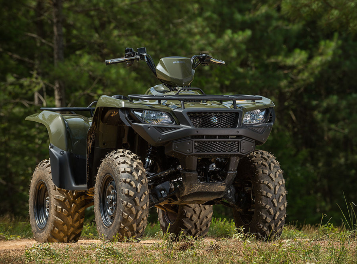 2016 suzuki king quad 750 axi and 500 axi 4×4 review | gearopen
