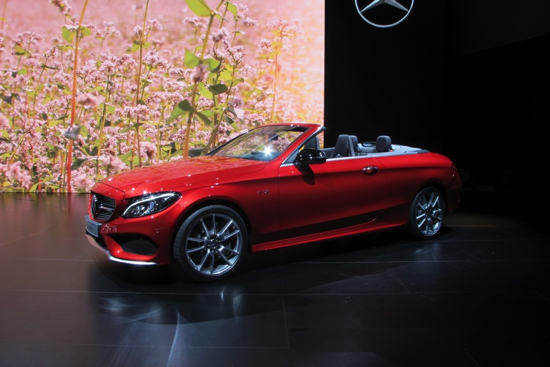 2017 Mercedes Benz C Cl Cabriolet Amg C43 First Look