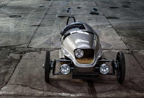 Morgan's EV3 is the electric car Nikola Tesla would've actually built