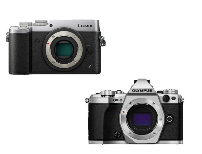 Panasonic GX8 vs Olympus E-M5 Mark II Specifications Comparison