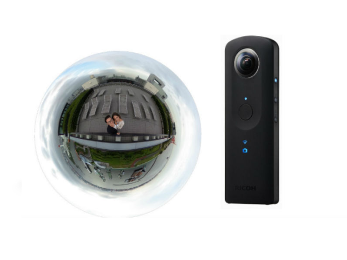 Ricoh Theta S Camera Review : 360-Degree Freedom, So-So Quality