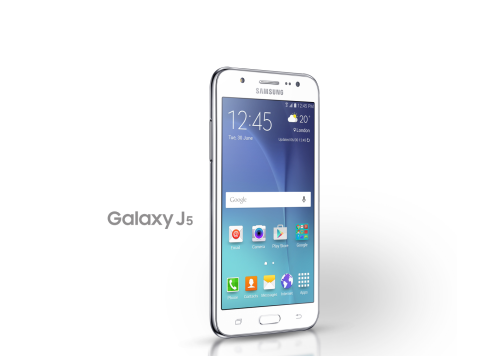 Galaxy J5 leaked images highlight metal frame and colors