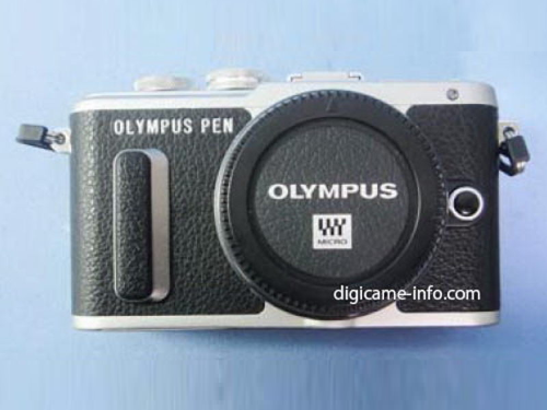 Olympus PEN E-PL8 leaks with yet another odd grip