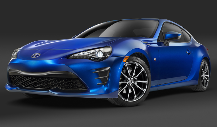 Scion FR-S reborn as the 2017 Toyota 86 with more power