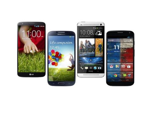 Android phone hero war : Flagship VS Flagship