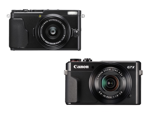 Fujifilm X70 vs Canon G7X Mark II Specifications Comparison Review