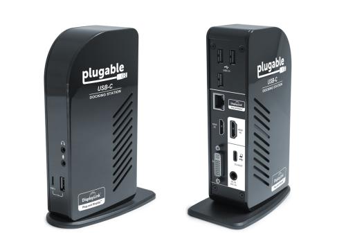 Plugable USB-C Triple Display Dock Review