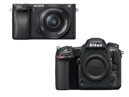 Sony A6300 vs Nikon D500 Specifications Comparison Review