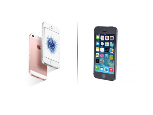 iPhone SE VS iPhone 5S : How to distinguish