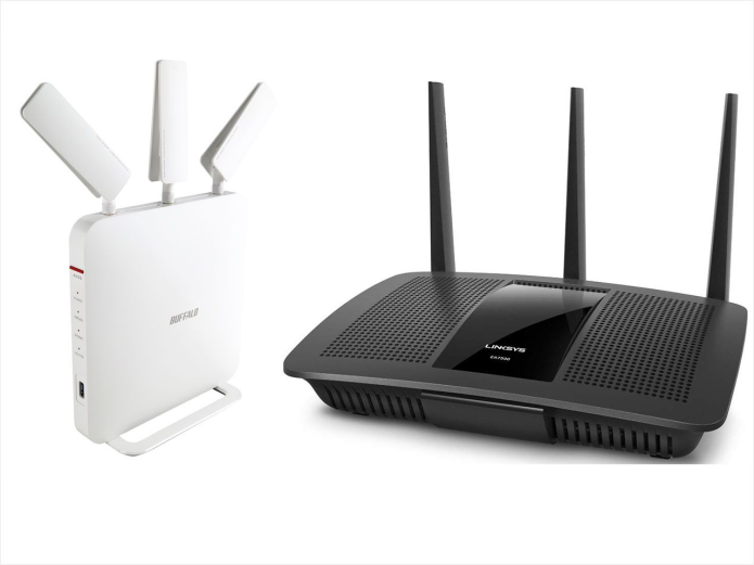 Best AC1900 Wi-Fi router: Buffalo WXR-1900DHPD vs. Linksys EA7500