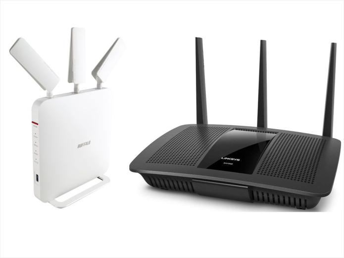Best AC1900 Wi-Fi router: Buffalo WXR-1900DHPD vs. Linksys EA7500