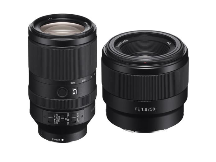 Sony FE 70-300mm f/4.5-5.6 G OSS and 50mm f/1.8 Lenses Announced