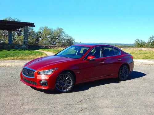 2016 Infiniti Q50 Red Sport 400 First Drive Review