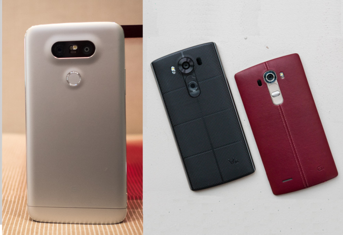 LG G5 vs G4 vs V10 – Camera Specs Comparison