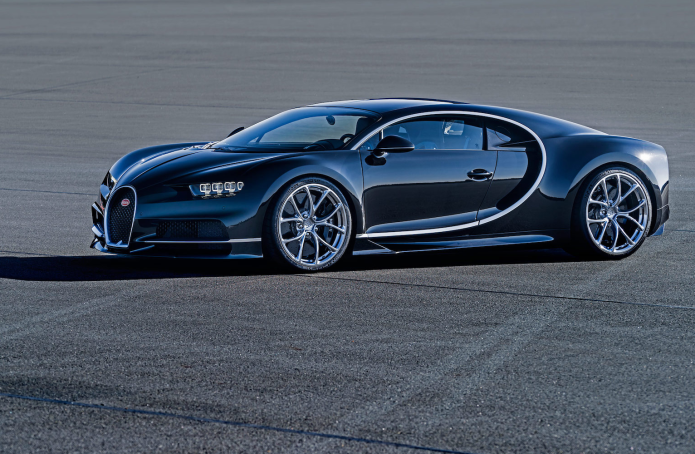 The Bugatti Chiron is $2.6m of 1,500 HP excess