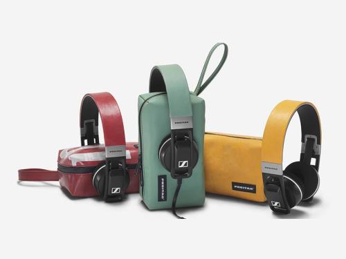 Sennheiser and Freitag team for one-of-a-kind Urbanite headphones