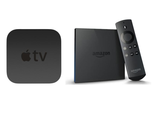 Amazon Fire TV vs Apple TV review