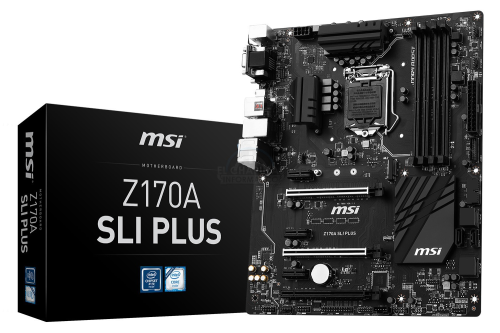 The MSI Z170A SLI PLUS Review : Redefining the Base Line at $130